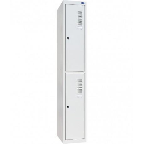 Одежный металлический шкаф ШОМ-300/1-2