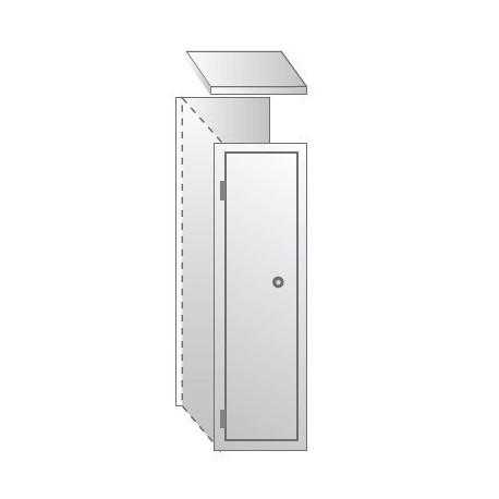 Шкаф для одежды ШО-400/1пр уп.