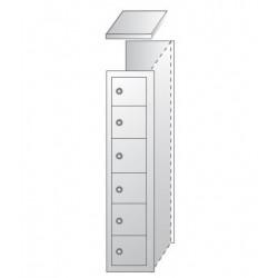Ячеечные шкафы (камеры хранения) ШО-400/1-6пр. уп